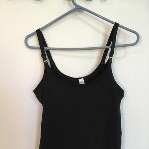 Tops - S (fits like XS) black nursing top